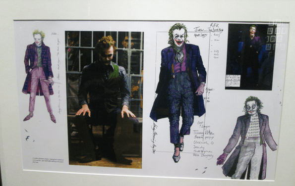 "Warner Bros Studio Museum ""Batman Exhibit"" Joker art."