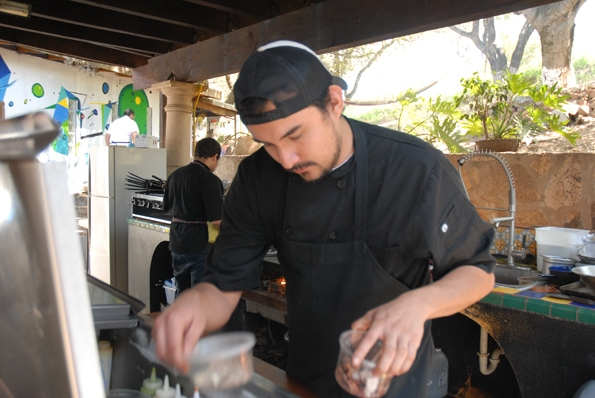 Sous chef at Malva in Valle de guadalupe