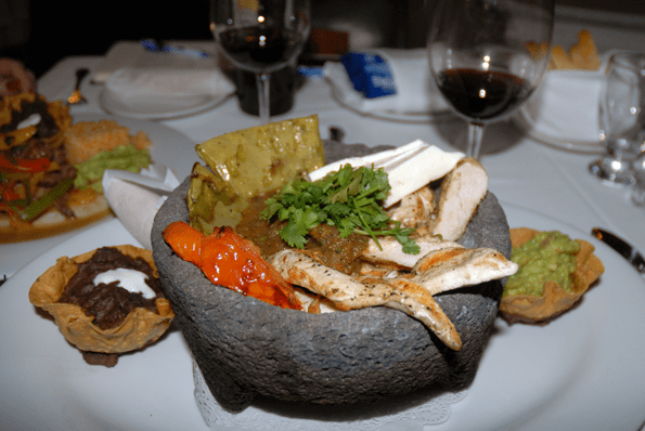 Molcajete from Hotel Coral Restaurant in Ensenada