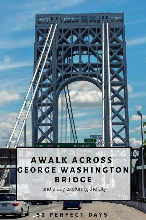walk across george washington bridge