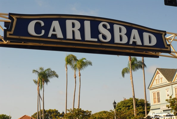 Carlsbad, California Sign