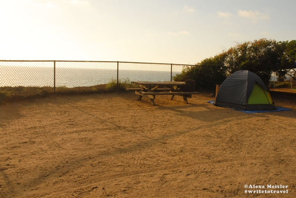 Camp at South Carlsbad State Beach