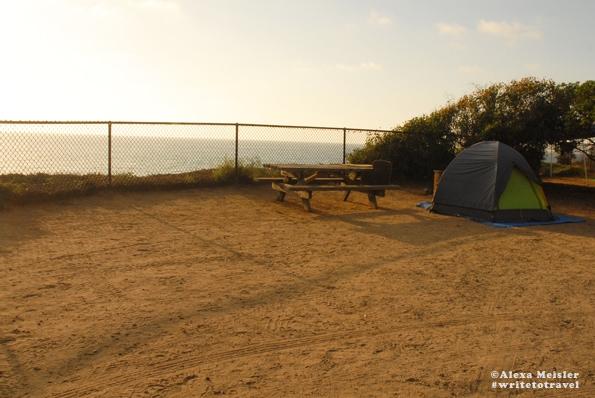 Camp at South Carlsbad State Beach