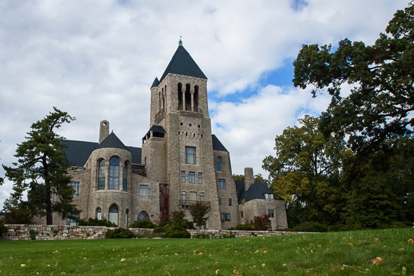 Glencairn Pitcairn family home museum in Bryn Athyn, PA