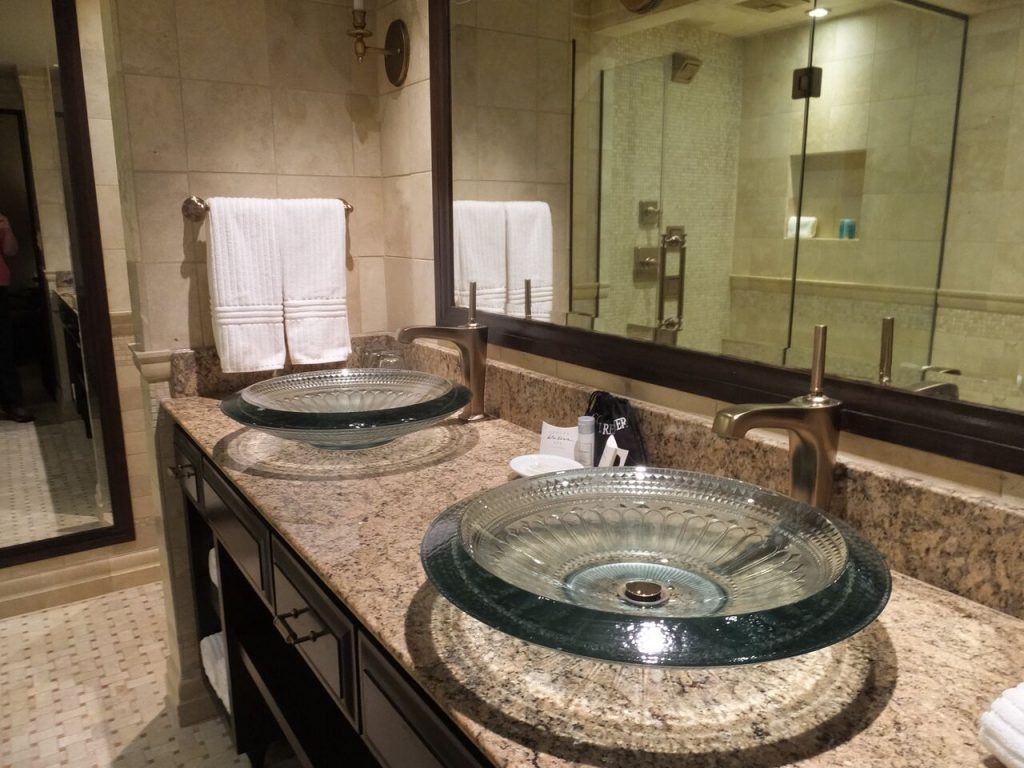 Kohler American Club in Wisconsin sink
