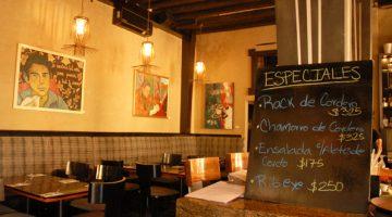 Hector's Bistro in Mazatlan