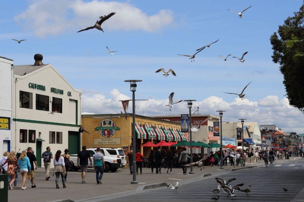 downtown Monterey, California