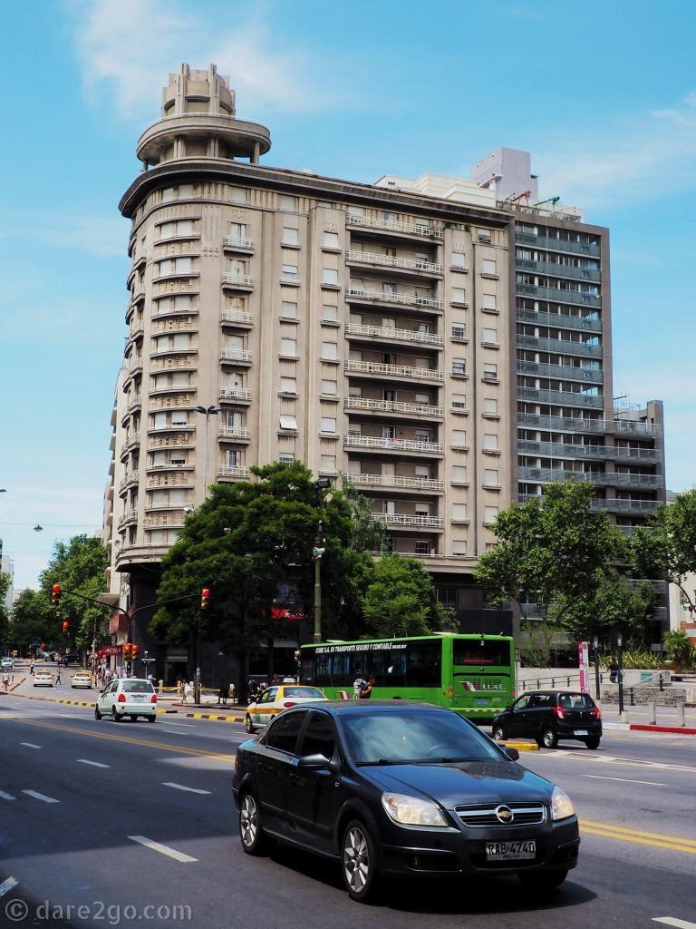 Montevideo Uruguay – Art Deco high-rise building