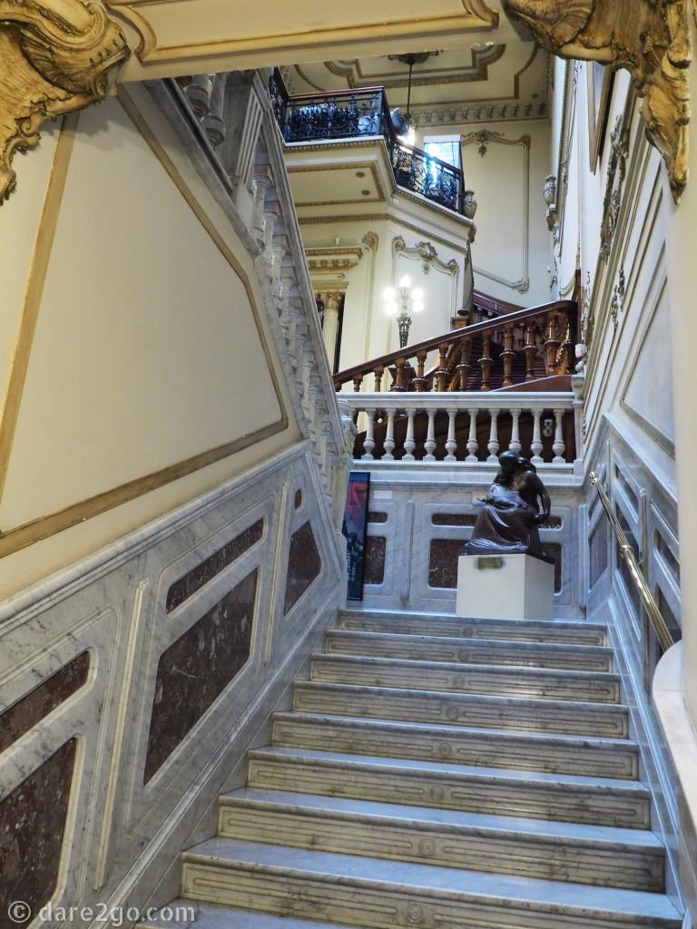 Montevideo Uruguay - Palace housing the Gaucho Museum