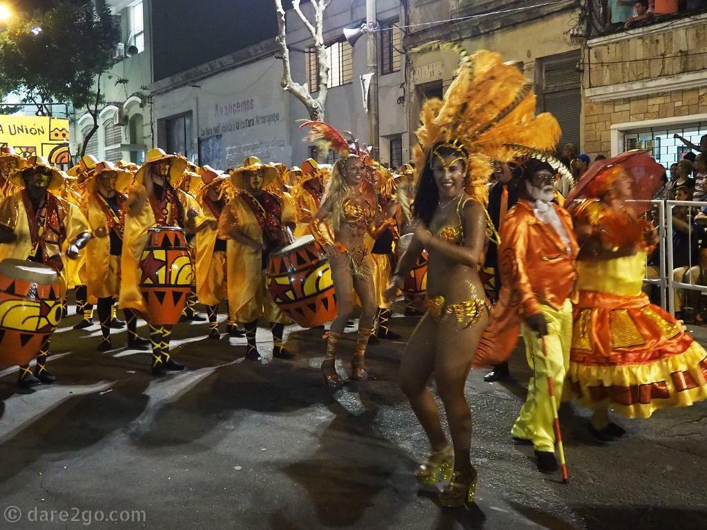Montevideo Uruguay - carnival parade Las Llamadas