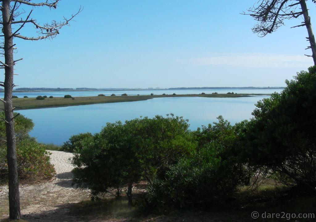 Laguna Garzon Uruguay - our beach