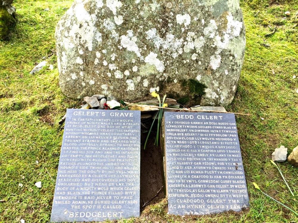 Beddgelert, gelerts grave in wales