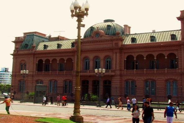 Casa Rosado in Buenos Aires