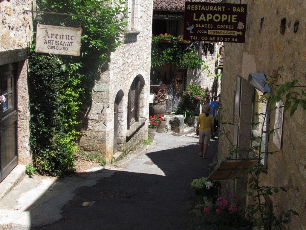 Saint Cirq LaPopie in France