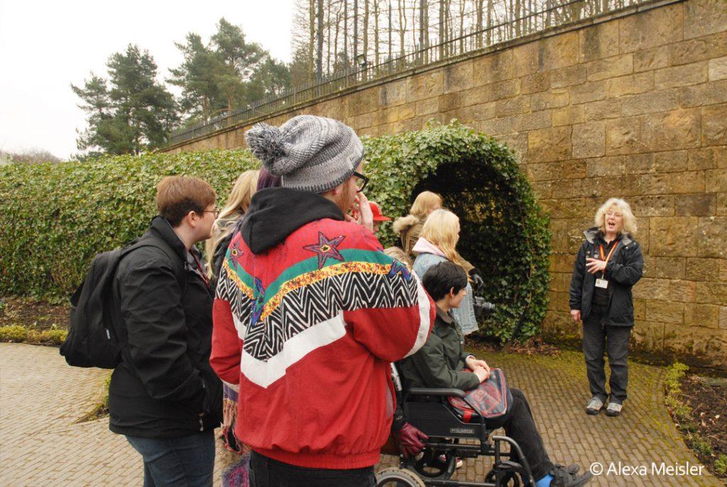 Alnwick poison garden tour in england