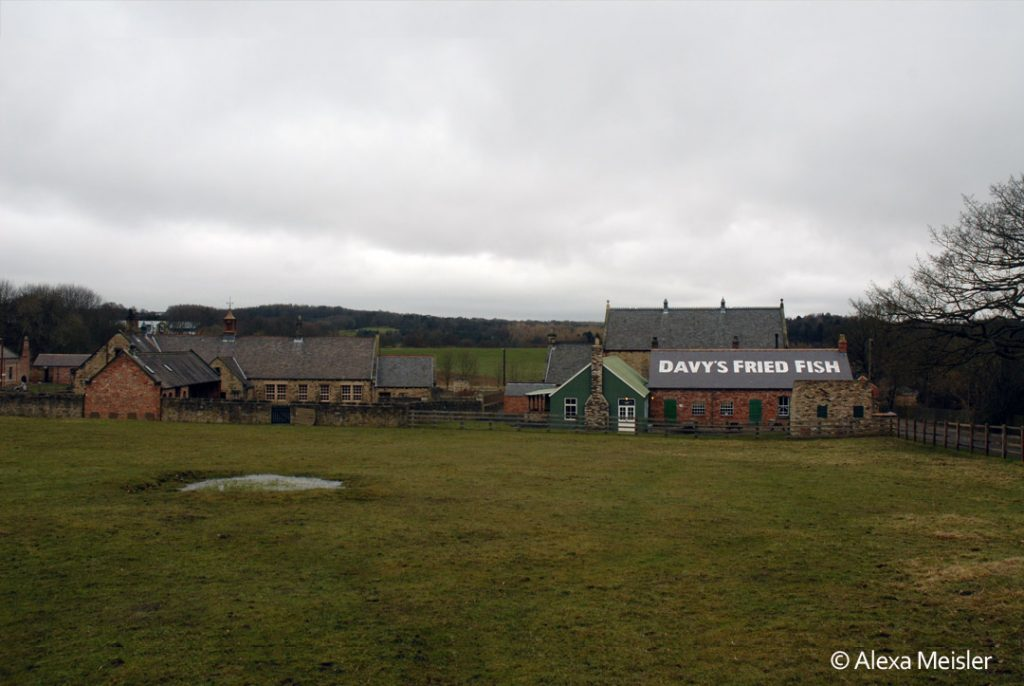 Beamish open air museum in durham county in england
