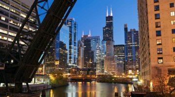 Chicago Hotel Skyline