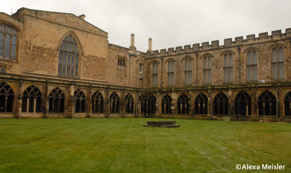 Harry Potter location for filming at Durham Cathedral