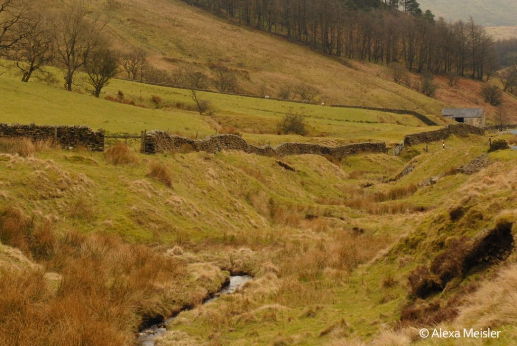 Forest of Bowland in Lancanshire, England