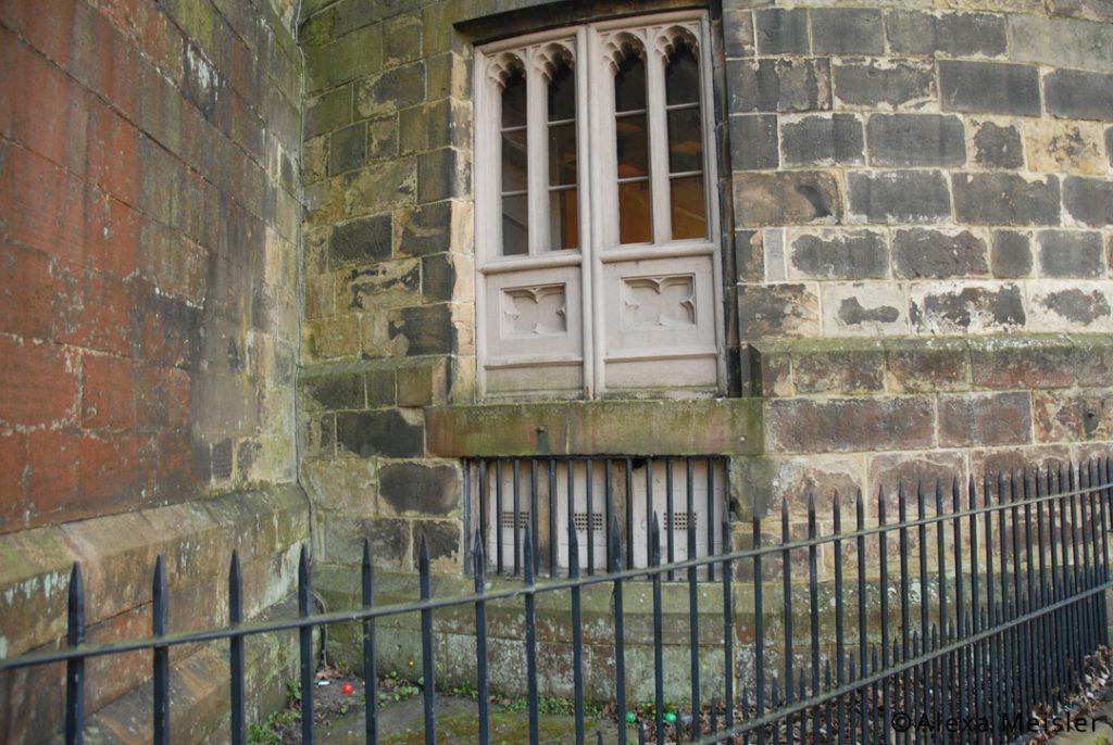 Hanging corner at Lancaster Castle