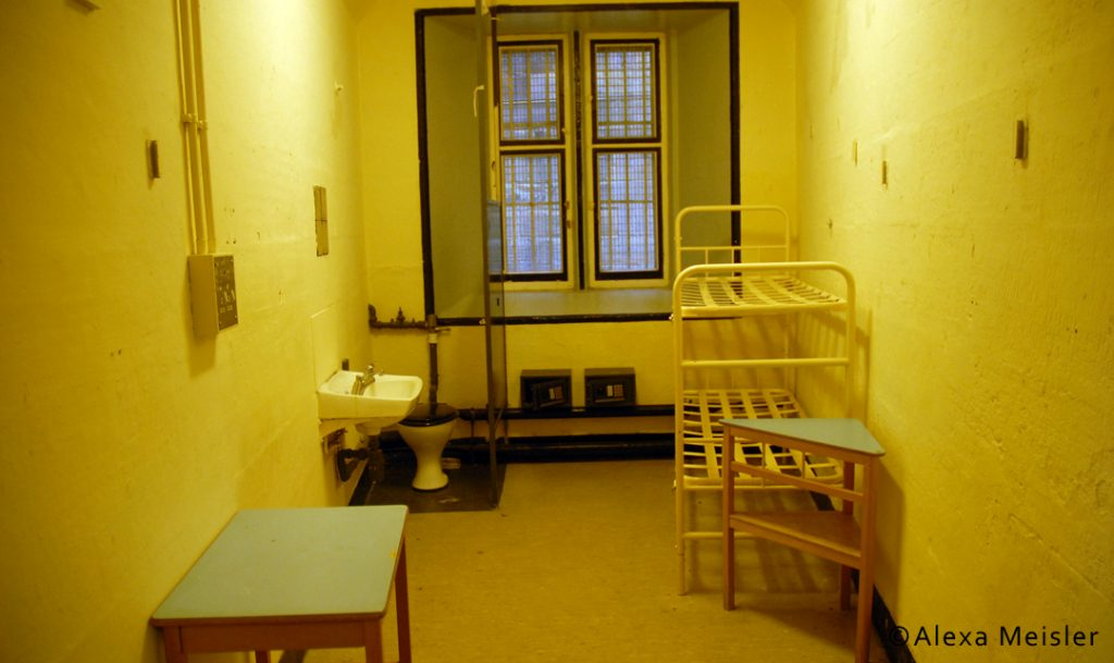 Cell at lancaster castle prison