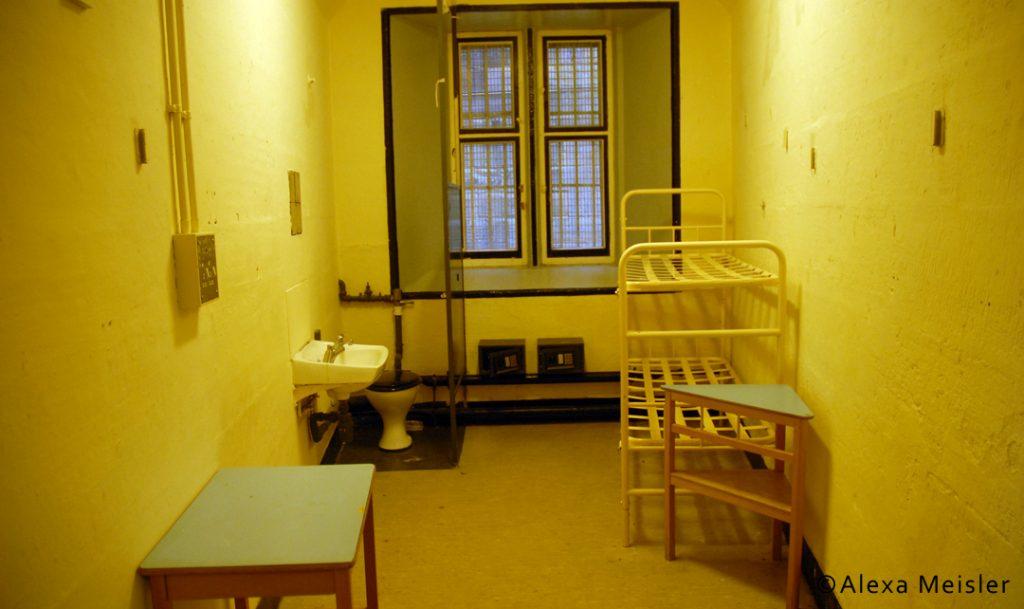 Cell at lancaster castle prison