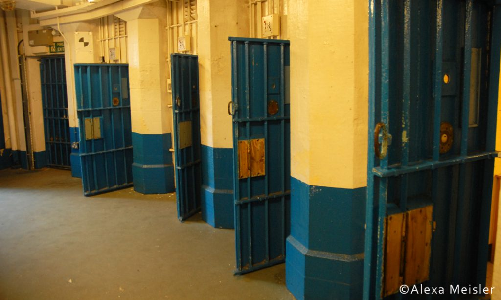 Prison at Lancaster Castle in England