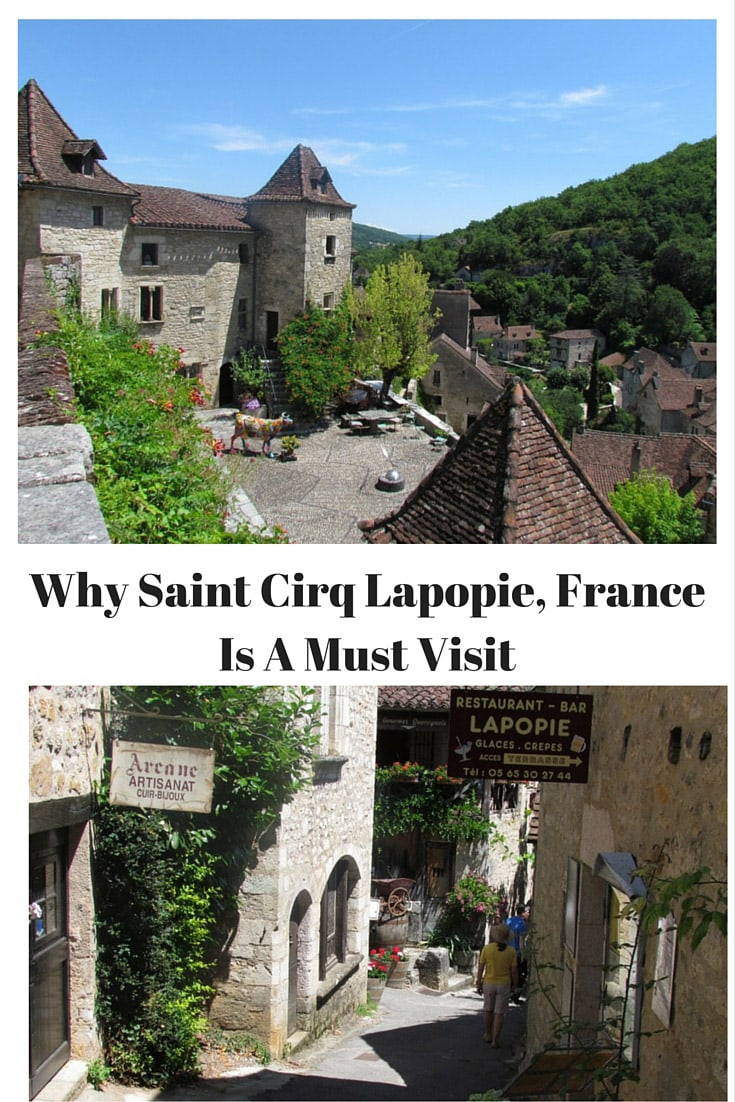 Saint-Cirq-LaPopie is perched 100 meters above the Lot River on a steep cliff. The town is one of the most popular destinations in the Lot. Saint Cirq LaPopie, France is a must-see town! #saintcirqlapopie #town #france #europe