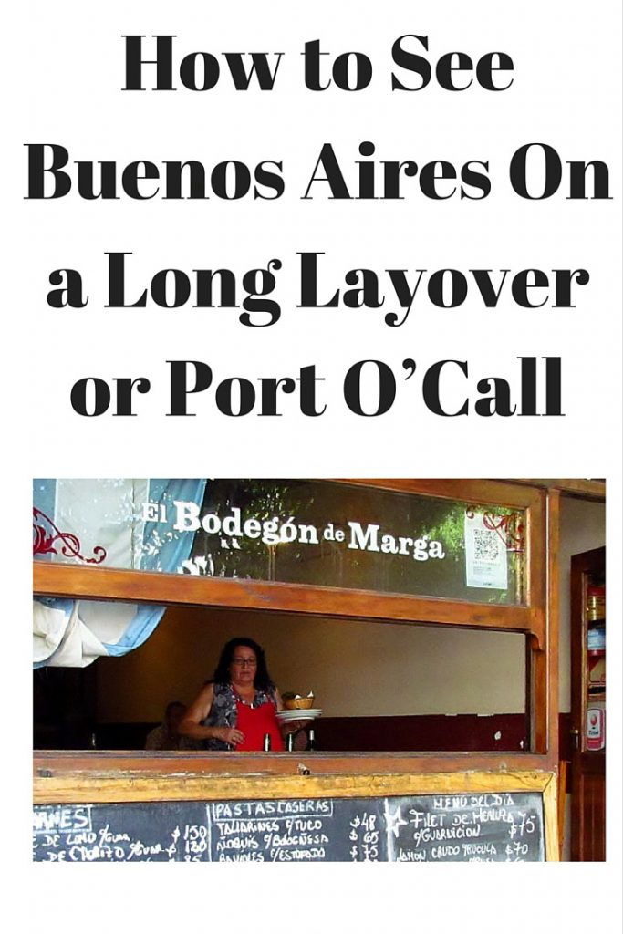 visit buenos aires during port o'call