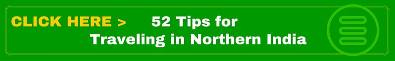 52 Tips for traveling in northern india