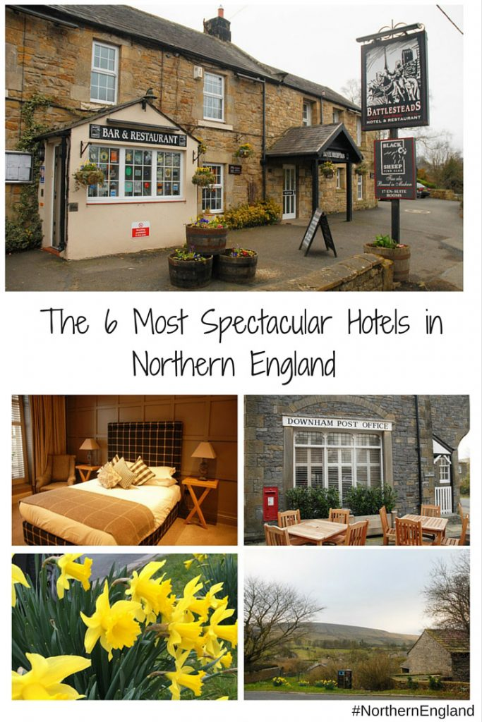 The 6 Most Spectacular Hotels in Northern England. Six great hotels in Northern England to complete the perfect English holiday. Includes hotels in Manchester, Durham, Wark on Tyne, Lancaster, Barley Mow.
