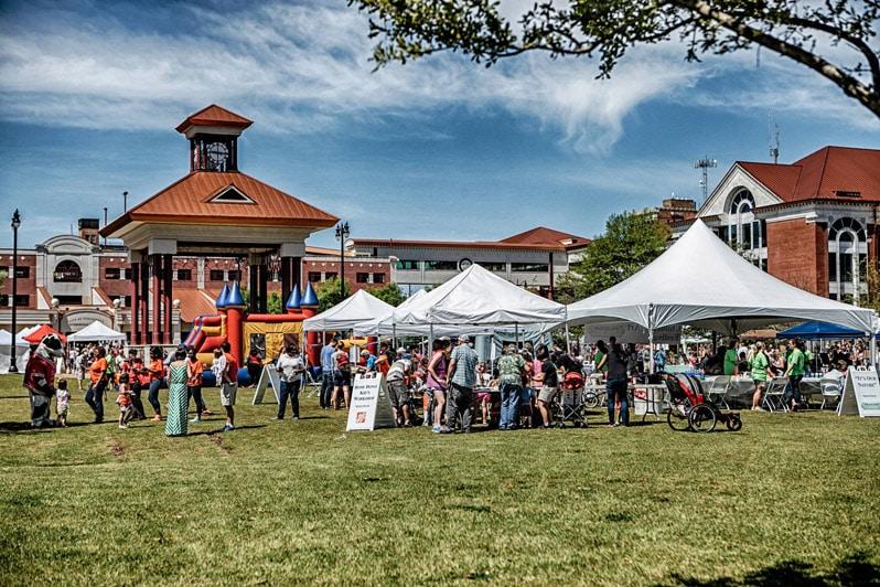 Druid City Arts Festival (DCAF) in Tuscaloosa