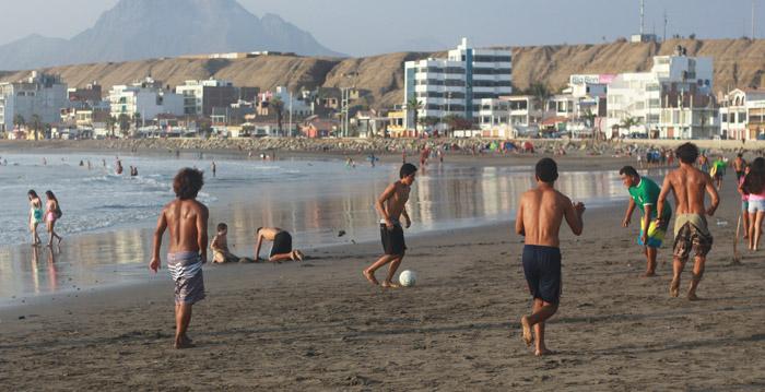 Beach Day in Huanchaco, Peru