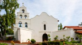 Mission San Diego de Alcalá is one of California's 21 Historic Missions