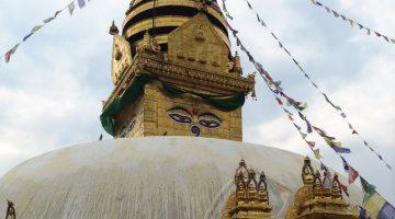 Monkey Temple in Kathmandu, Nepal