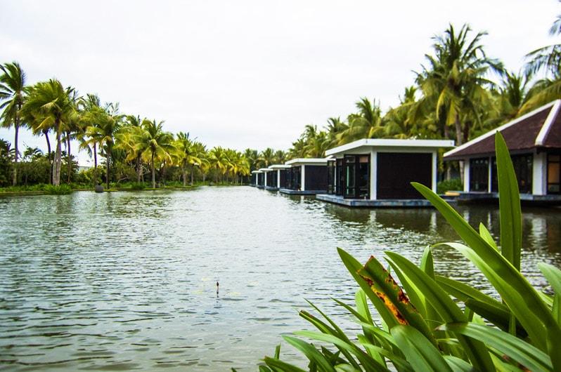 Villas at The Nam Hai Hoi An Hotel in Vietnam