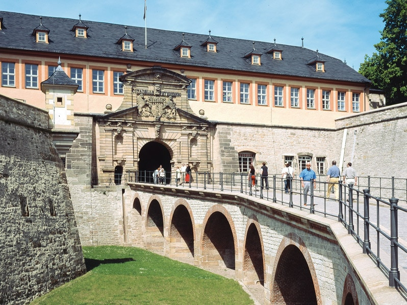Petersberg Citadel in Erfurt Germany