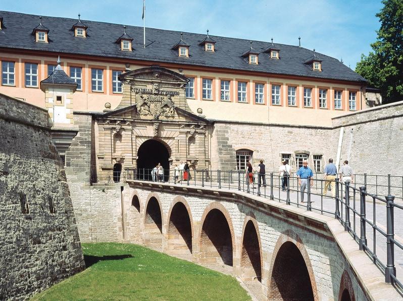 Petersberg Citadel in Erfurt Germany