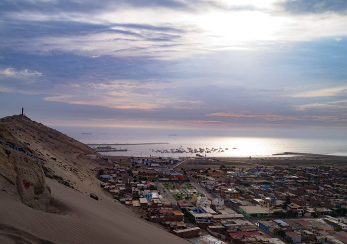 Sand Dunes Salaverry in Huanchaco, Peru