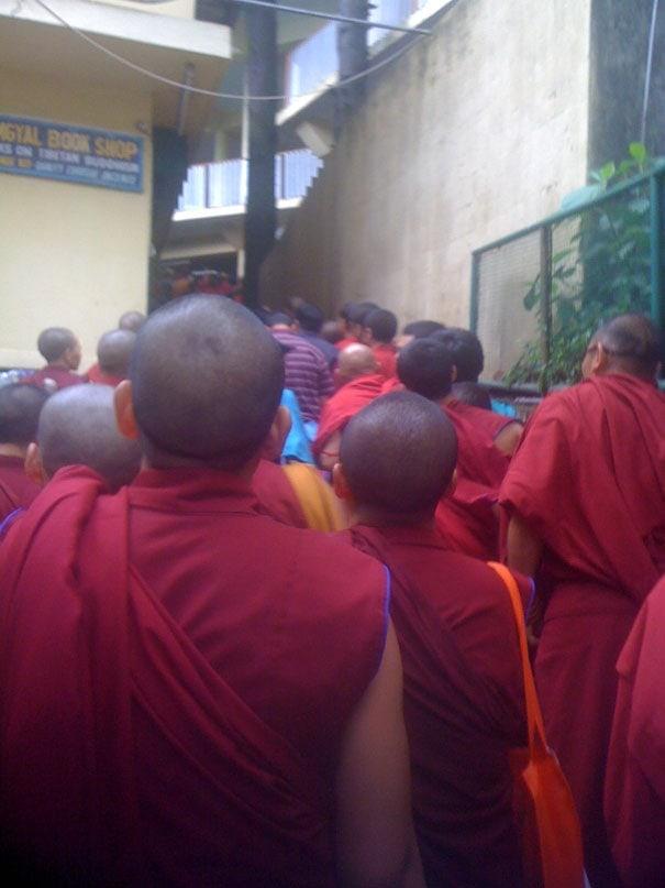 Dalai Llama line