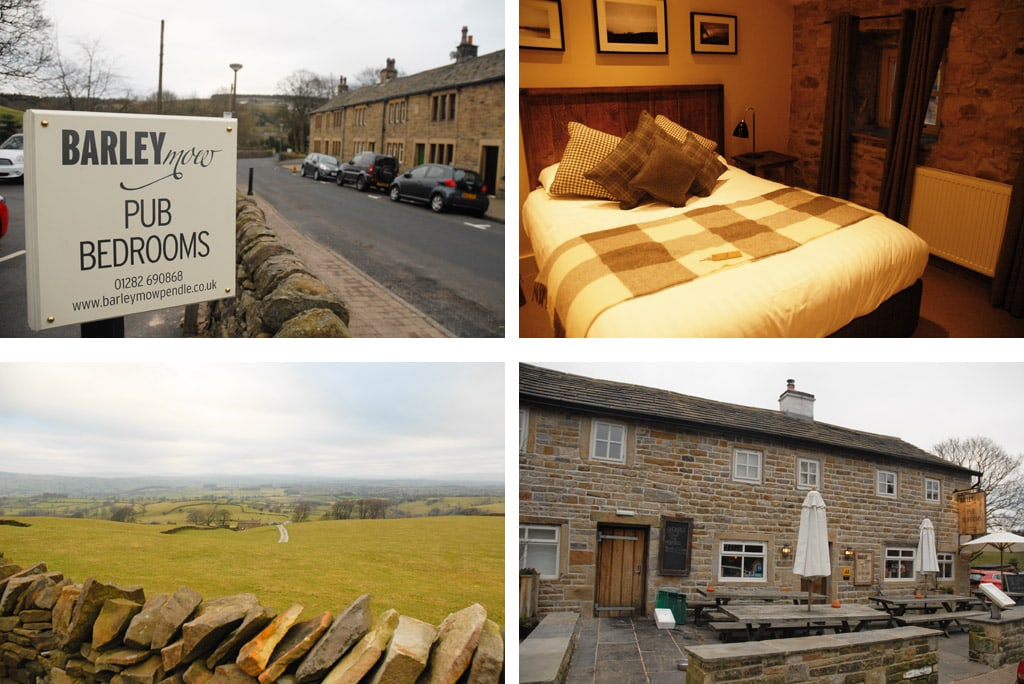Barley Mow hotel in northern england