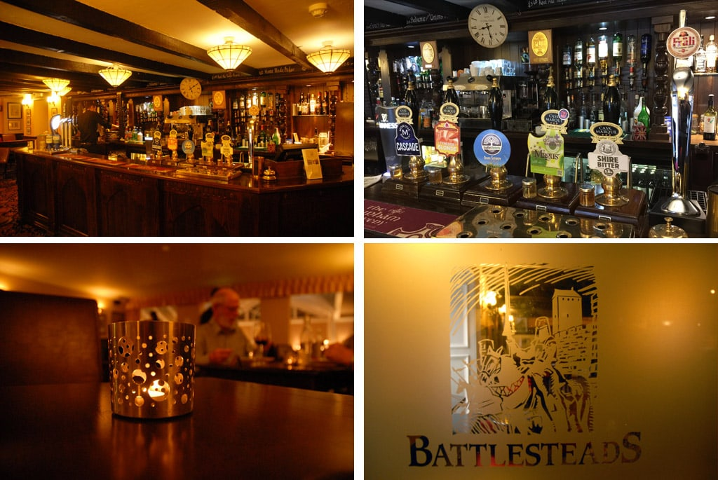 battlesteads hotel restaurant northern england pub
