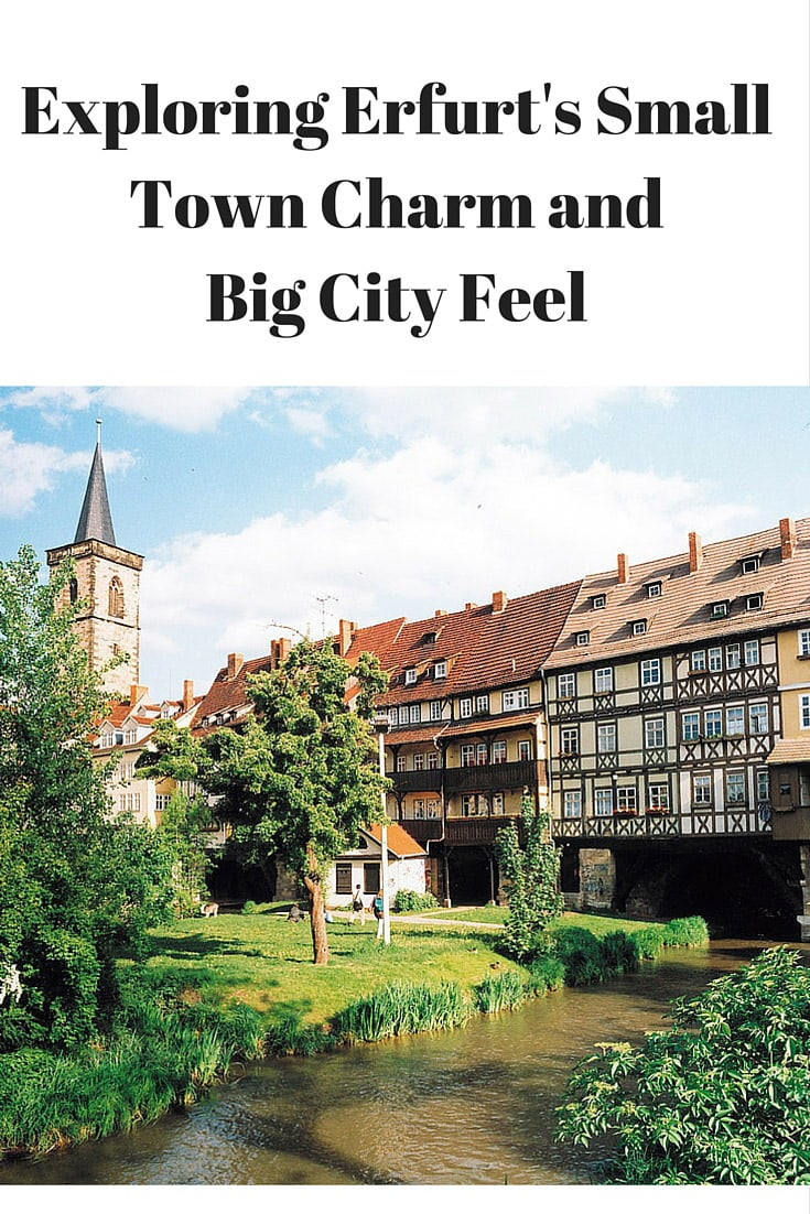 For those travelers to Germany looking to expand their horizons beyond the major cities consider booking a day trip to Erfurt. Here we share how to have a perfect day in Erfurt, Germany. #erfurt #germany #europe #travel
