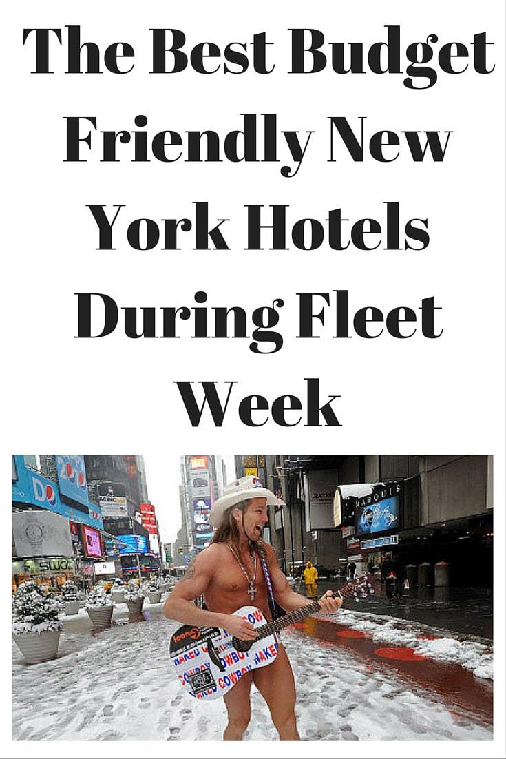 Budget hotels for fleet week in new york