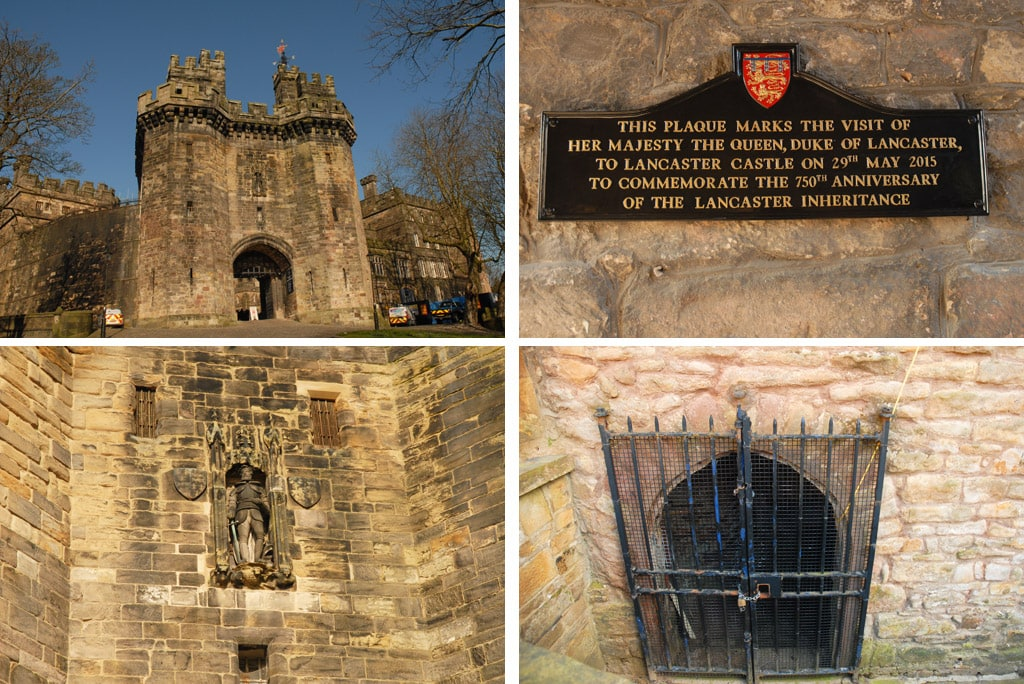lancaster castle in northern england