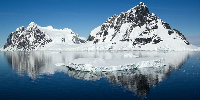 Lemaire channel during a Perfect Day In Antarctica