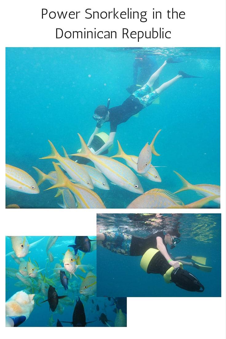 Power Snorkeling in the Dominican Republic near Sosua