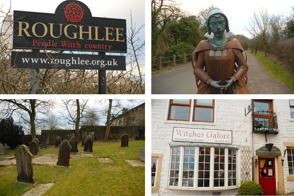 Rouglee pendle witch country in northern england