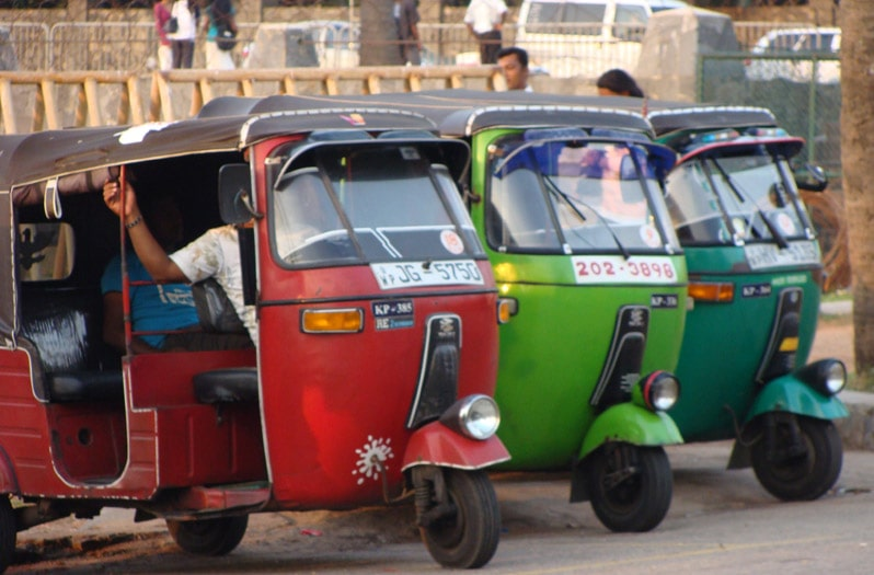 Tuk Tuk in Northern India