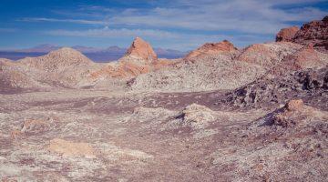 Atacama Valle de la Luna in Chile